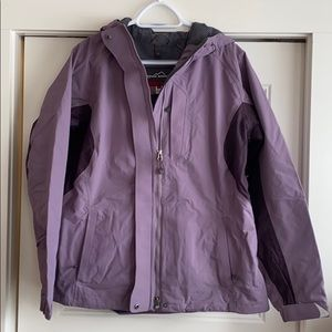 Eddie Bauer shell jacket